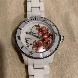 Toywatch Ceramic Plumeria Watch